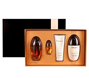 Calvin Klein Obsession Perfume Gift Set for Women 3.4 oz Eau De Parfum Spray