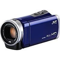 JVC Gz-e300 Full Hd Everio Camcorder (Blue) by JVC