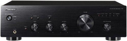 Pioneer A-10-K Amplificatore Stereo, 50 W x 2/4 Ohm, Nero