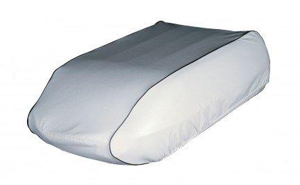 "Adco 3003 Rv Ac Air Conditioner Shroud Cover White Duo Therm Briskair Models 27"" X 13"" X 35"""