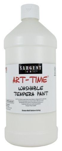 Sargent Art 22-3596 32-Ounce Art Time Washable Tempera, White