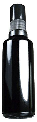 Premium UV Glass Spray Bottle SuperFine 3.4oz 100ml Travel Size Miron Refillable Mister (5 Inch Glass Jar compare prices)