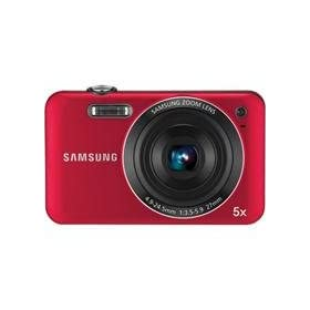 Samsung SL605 12.2 MP Digital Camera with 5X Optical Zoom and 2.7-Inch LCD Screen (Red)
