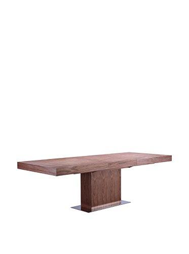 Casabianca Ponte Dining Table, Walnut Veneer