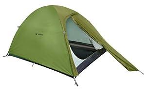 Vaude 11491 Tente Campo Compact pour 2 personnes Vert 305 x 140 x 112 cm