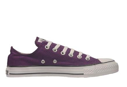 Converse Chuck Taylor All Star Lo Top Purple Passion Canvas Shoes