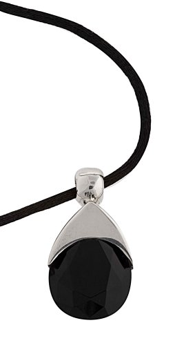 Small Crystal Drop Pendant From the Crystal Collection Designed By Mauricio Serrano For Basic Jewelry