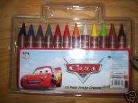 Disney Cars 12 Pack Jumbo Crayons - Buy Disney Cars 12 Pack Jumbo Crayons - Purchase Disney Cars 12 Pack Jumbo Crayons (National Design, Toys & Games,Categories,Arts & Crafts,Crayons)
