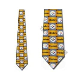 Pittsburgh Steelers Ties Mens Silk NeckTies
