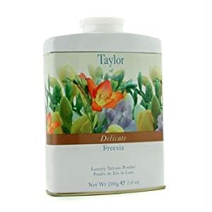 Taylor of London Delicate Freesia Luxury Talcum Powder, 7.0 Oz