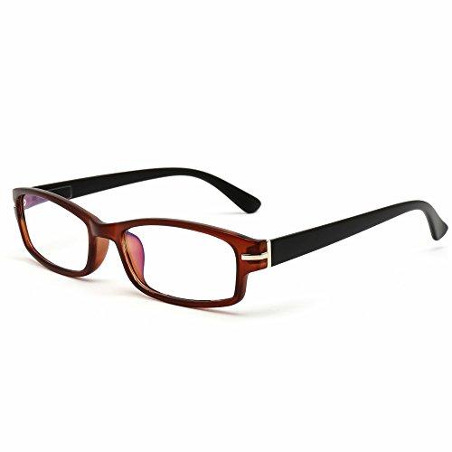 老眼鏡 おしゃれ メンズ ブルーライト 高機能ブルーライトカット老眼鏡 (M-308) (+3.00, ブラウンマット) 【お試し特別価格】
