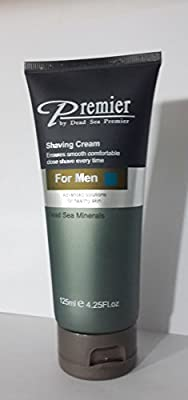 Best Cheap Deal for Premier Dead Sea Shaving Cream for Men, Tube, 4.25-Fluid Ounce from Premier Dead Sea - Free 2 Day Shipping Available