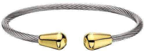 Stainless Steel Tear Drop 18K Gold Plate