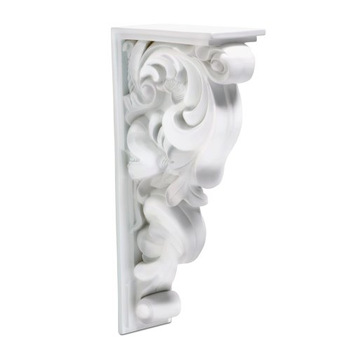 Focal Point 38340 Kingsley Corbel 3 5/8-Inch by 17 1/4-Inch by 8 7/8-Inch, Primed White