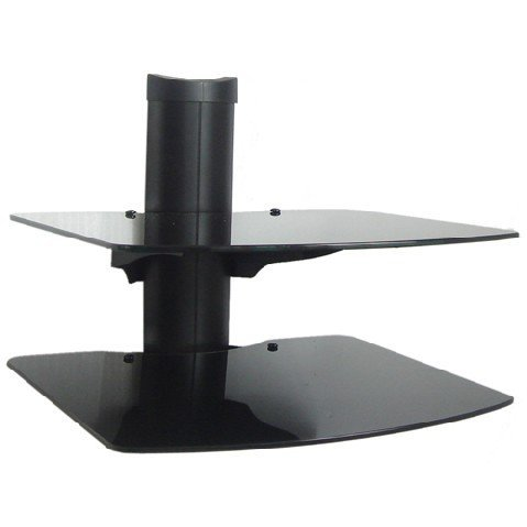 2 Shelf Wall Mount Bracket for LCD LED and Plasma