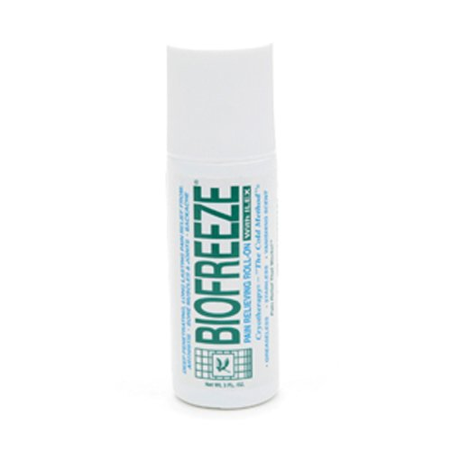 BIOFREEZE Pain Relieving Roll On, 3-Ounce Tube