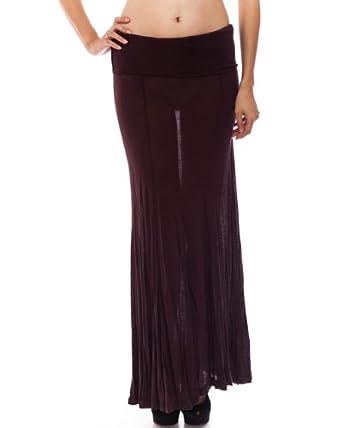 Brown Tube Tube Skirt Dress, Worn as Skirt or Tube Dress