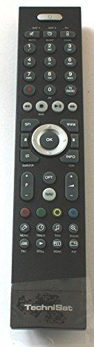 TechniSat Fernbedienung FB-DVR 401B für Receiver Set 1 Digit ISIO S S1 Digicorder HD S3