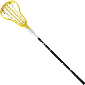 Harrow Complete Stick with P7 Ladies Strung Head and P1 Black Handle, Yellow by Harrow
