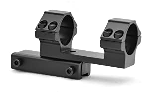 1inch One Piece Offset Scope Mount with Stop Pin for High Power Magnum Airguns Air Rifles