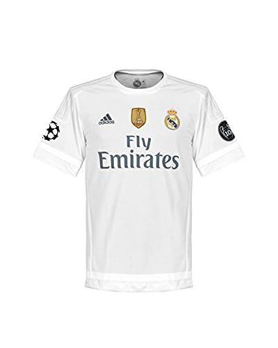 adidas Camiseta Manga Corta Blanco / Gris