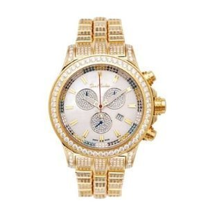 Fully Paved Mens Joe Rodeo Diamond Watch 26.70ct