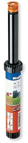 Claber 50945 90006 Irrigatore Pop-Up Regolabile, Nero/Arancione