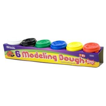 DDI 311029 2 Oz. Multi Color Bazic Modeling Dough - 6-Package