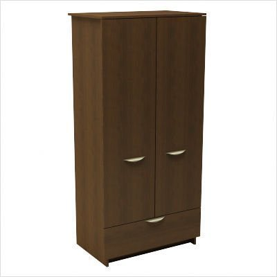 Nexera 401203 Nocce 1 Drawer Mens Armoire