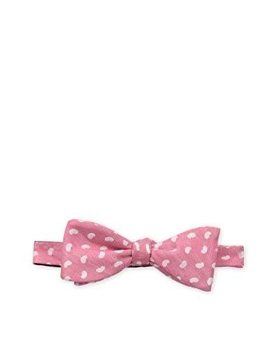 Bruno Piattelli Men's Paisley Bow Tie, Red