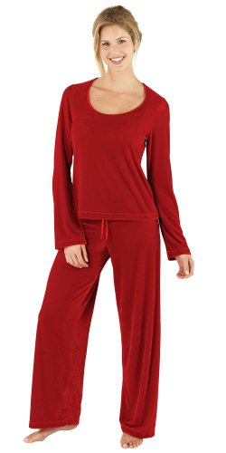 Ruby Velour Pajamas