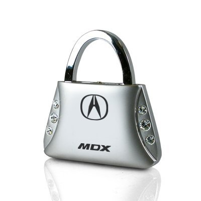 acura-mdx-clear-crystals-purse-shape-key-chain