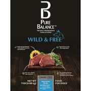 Pure Balance Wild And Free Bison And Pea Dog Food
