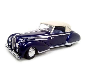 Buy 1947 Delahaye 135m Blue 1:18 Diecast Model