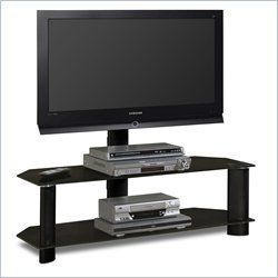 Cheap Tech-Craft Solution Black Glass Plasma,Lcd Tv Stand With Mount (TRK50B)