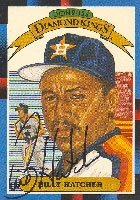 Billy Hatcher Houston Astros 1988 Donruss Diamond Kings Autographed Hand Signed... by Hall+of+Fame+Memorabilia