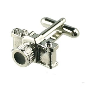 NEW CAMERA PHOTOGRAPHER CUFFLINKS IN GIFT BOX
