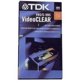 TDK VHS/S-VHS Wet Head Cleaner (Tdk Head compare prices)