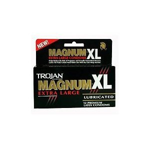 amazoncom new 12 trojan magnum xl condoms extra large