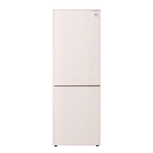 シャープ 271L 2ドア冷蔵庫(ベージュ系・ロゼベージュ)SHARP プラズマクラスター冷蔵庫 SJ-PD27A-C