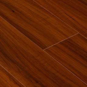 Goodwood Wood Flooring Burma Teak Laminate Flooring Tile with thickness: 12mm, width: 5 In., length: 4'