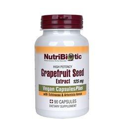 Nutribiotic+Echinacea Artemesia grapefruit seed extract (GSE)(90Capsules) Brand: Nutribiotic