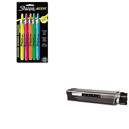 KITMDA40037SAN28175PP - Value Kit - Media Sciences MDA40037 C6100 Compatible (MDA40037) and Sharpie Retractable Highlighters (SAN28175PP)