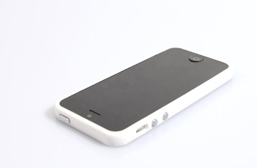 Coconut iPhone 5 Bumper Case - Weiss (iPhone 5 Hülle - iPhone 5 Cover)