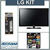 LG 42LK520 42 inch Class LCD HDTV, Full HD 1080p, with Accessory Kit (2 HDM ....