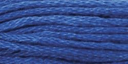 Coats & Clark Six Strand Embroidery Floss 8.75 Yards Blue Medium C11-7023; 24 Items/Order