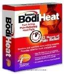 Beyond BodiHeat Original, Bodiheat 12Hr Adh Pad 3.75 X 5, (1 CASE, 192 EACH)