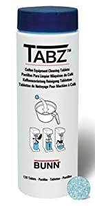 Bunn 39637.0000 Tabz Coffee Brewer Cleaning Tablets by Bunn