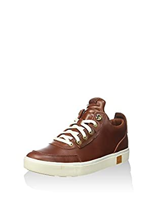 Timberland Zapatos de cordones Amherst High Top Chu Barn (Marrón)