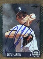 Dave Fleming Seattle Mariners 1995 Score Gold Autographed Hand Signed Trading Card. by Hall+of+Fame+Memorabilia